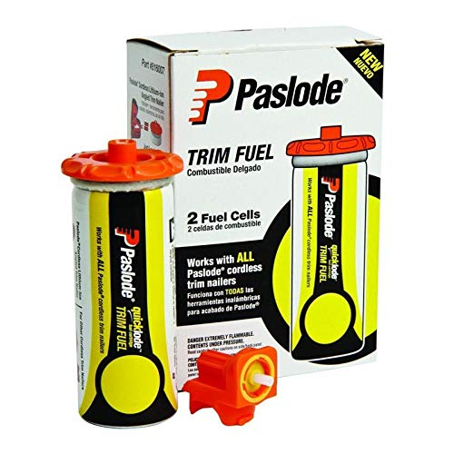 Paslode - 816007 Universal Short Yellow Trim Fuel, 2-Pack - Works with all Paslode Finish and Brad - Fuel Trim
