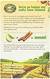 Nature\'s Path Toaster Pastries, Apple Cinnamon Frosted, 6 ct