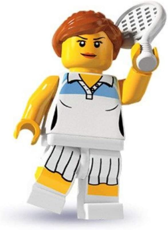 Lego: Minifigures Series 3 > Female Tennis Player Mini-Figure