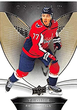 2018-19 Upper Deck Trilogy  32 T.J. Oshie Washington Capitals NHL Hockey  Trading Card 3092388ffc5