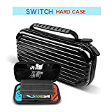 Nintendo Switch Hard Case,Suitcase Design,Portable Hard Shell Pouch Traveler Game Bag for Nintendo Switch Console & Accessories holds 10 Game Cartridge