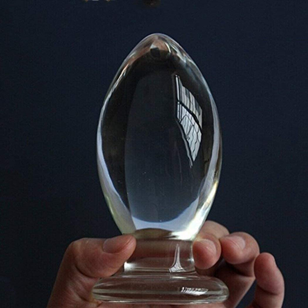 Amazon Com T Explorer Huge Head Glass Butt Plug Clear Extra