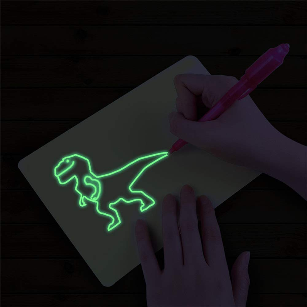 Ultra-Thin Portable LED Light Box Tracer LED Artcraft Tracing Light Pad Artists Light Boxes for Artists Drawing Sketching Animation TAIPPAN Light Up Tracing Pad