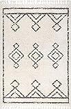 "nuLOOM Mackie Moroccan Diamond Shag Rug, 7' 10"" x"