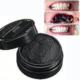 LuckyFine Activated Charcoal Teeth Whitening Natürliches Aktivkohle Zahnaufhellung pulver mit Aktivkohle pulver