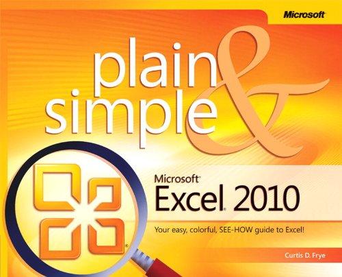 Calendar 2010 Business - Microsoft Excel 2010 Plain & Simple