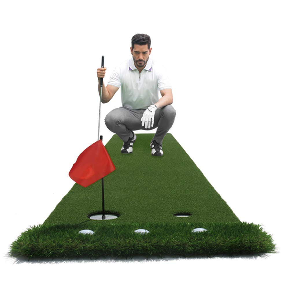 ゴルフ練習室内ミニ練習パッドセット(3m×50cm)   B07L1KKZ56