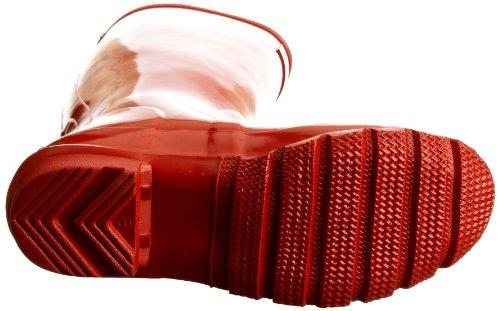 Hunter Gloss Donne Originali W23616 Alte Gummistiefel Rosso (pilastro Riquadro Rosso)