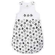 SHENGWEN Baby Sleep Sack Boys Girls Sleeping Bag Wearable Blanket Winter (Star, 6-18m)