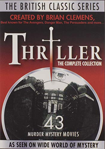 British Classic Series: Thriller // Complete Collection of 43 Murder Mystery Movies