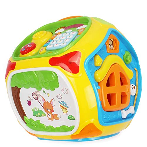 BreeZe Fun Multifunctional Learning Toy for Toddlers,Sorting Toys,Basic Life Skills