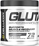 Cellucor Glutamine Powder, Post Workout Recovery with Glutamine Supplement, Cor-Performance Series, Unflavored, 72