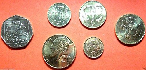 CY 2004 Cyprus 2004 last cents pre Euro Brilliant - Euro Complete Coin