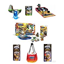 Best bargins New! SKYLANDER Ultimate (7pc) Bundle Deal: Super Charger Racing Starter Pack, Garage Storage CASE, Waterfall SKYLAND, Quick Store Play MAT, 2 Fun Packs, A Mystery Chest (Nintendo Wii)