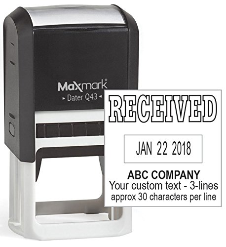 date stamp self inking custom - 6