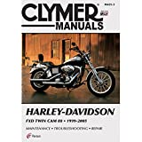 Clymer Repair Manual for Harley Dyna FXD Twin Cam 88 99-05