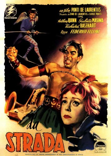 Amazon.com: 27 x 40 Póster de la película La Strada: Home & Kitchen