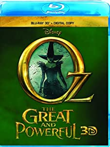 Cover Image for 'Oz the Great and Powerful (Blu-ray 3D + Digital Copy)'