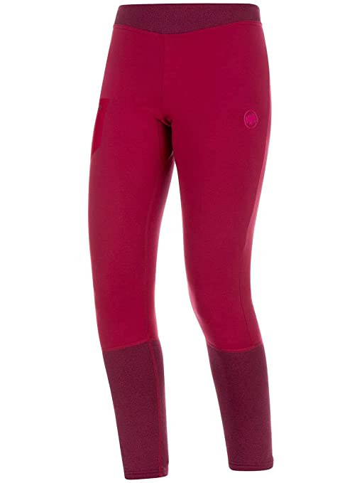 a4b4b3b6ec4ca Mammut Aconcagua ML Tights Women, size:M, Color beet-beet melange