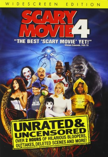 Scary Movie 4 (Unrated Widescreen - Scary Movie Dvd