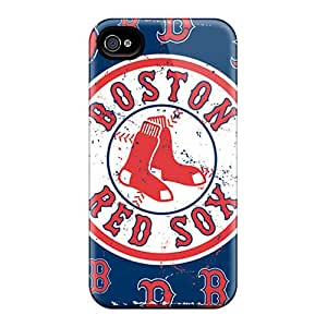 Durable Hard Cell-phone Cases For Iphone 6 With Provide Private Custom Colorful Boston Red Sox Skin JonBradica