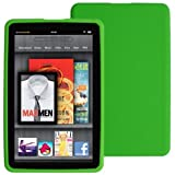 Skque Green Silicone Skin Case Of Amazon Kindle Fire