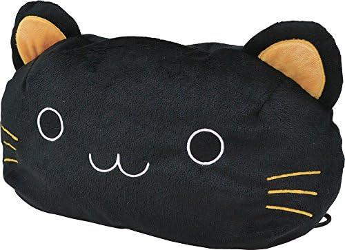 ねこ顔ティッシュカバー 黒猫