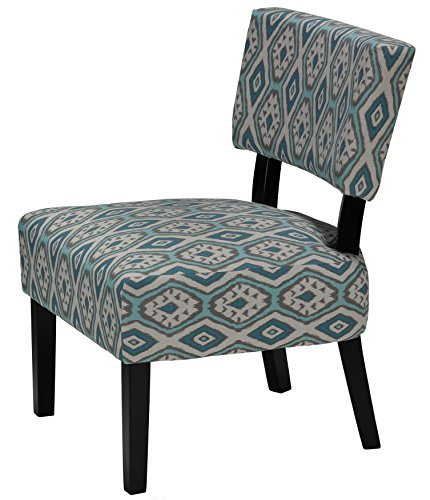 home largo diamond ikat armless accent chair home and office chairs