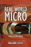 Real World Micro, 22nd Ed, Marty Wolfson, Chris Tilly, Alehandro Reuss, Peter Barns, 1939402190