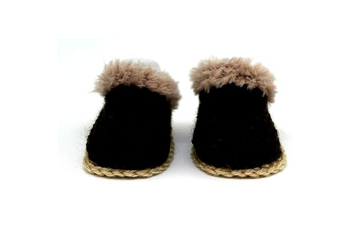 Botines de bebé, Zapatillas de niño, Botines de crochet, Botas de invierno,