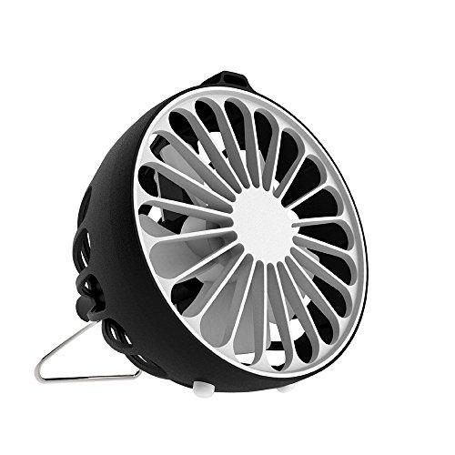 USB Fans,Negative Ions Portable Office Fan Mini Electric Fan Desktop Fan 2.5 W for Student Women Bedroom Cooler ()
