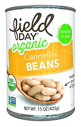 Field Day Organic Cannellini Beans, 15 Ounce