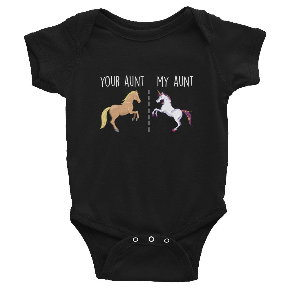 Infant Bodysuit Baby Newborn My Cheape Things Your Aunt My Aunt Unicorn