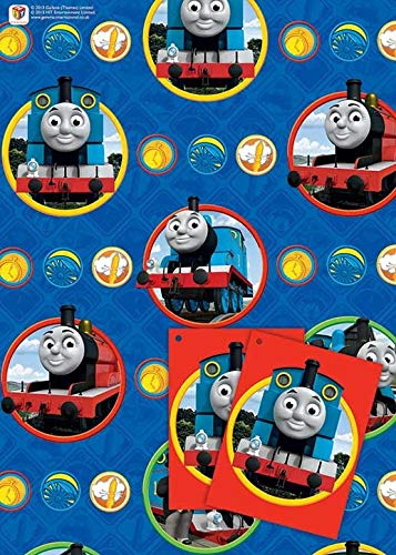 FNA FASHIONS Thomas Character Fancy Funny New Birthday Party Kids Gift Pack Decorations Boys ()