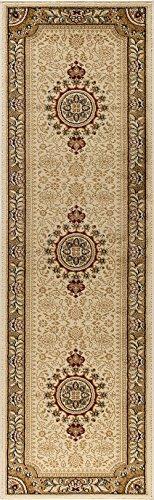 Ivory Turkish Rug (Universal Rugs Jayden Traditional Oriental Ivory Runner Rug, 2' x 7')