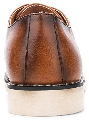 Pictures of JOUSEN Men's Chukka Boots Casual Leather 8