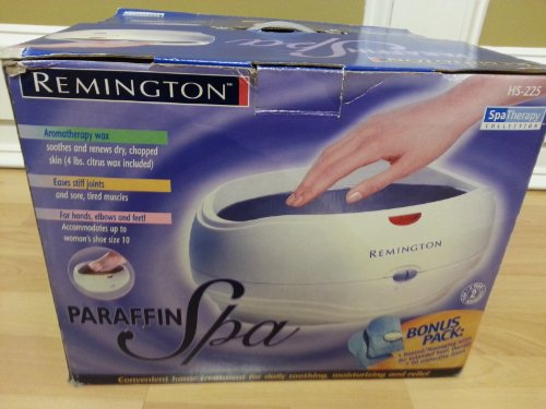 (Remington Paraffin Spa Spa Therapy Collection HS-225)