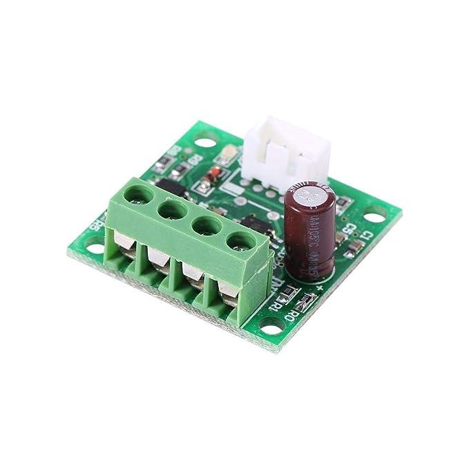 Controlador de Velocidad de Motor DC 1.8v a 15v 2a Mini Pwm de Baja Tensi/ón Sobre M/ódulo de Control de Regulador de Protecci/ón de Corriente