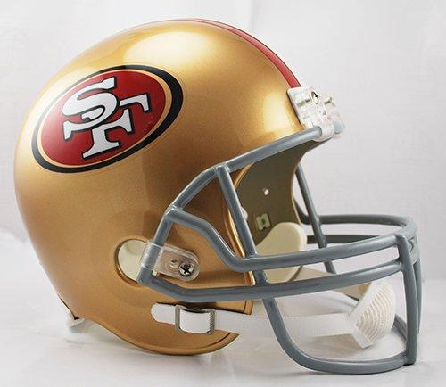 San Francisco 49ers Riddell Full Size Deluxe Replica Football Helmet - New in Box