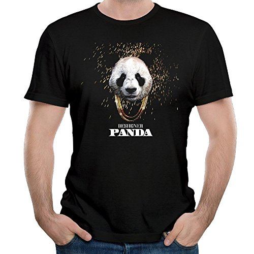 Men's Desiigner Panda New Wave No. 1 Rap Song 100% Cotton Short Sleeve T-shirt