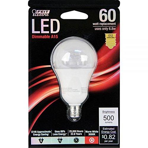 Feit Electric Led Light Bulb Candelabra E12 7W