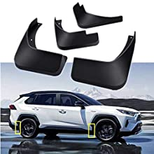 Mud Flaps Kit for Toyota XA50 RAV4 2019 2020 Mud Splash Guard Front and Rear 4-PC Set by TOPGRIL