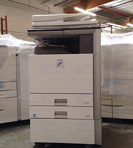 - Refurbished Sharp MX-M283 Tabloid-size Monochrome Multifunction Printer - Print, Copy, Scan, 2 Trays, Cabinet, Auto Duplex, RSPF, 28ppm