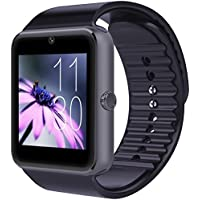 CNPGD [U.S. Warranty] All-in-1 Smartwatch and Watch Cell Phone Black for iPhone, Android, Samsung, Galaxy Note...