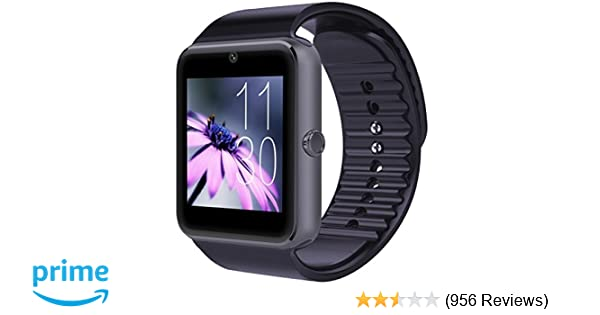 CNPGD Bluetooth Smart Watch(Partial Compatible for IOS IPHONE)+(Full  Compatible for Android smartphone) Samsung 663bf97fa3