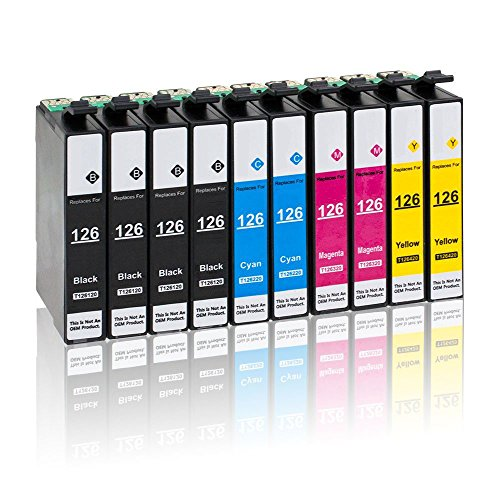 Capacity Remanufactured Ink - 4