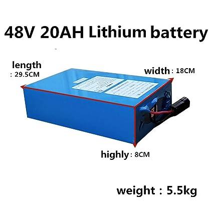 Alto Voltaje 2000W 48V 20AH 30AH 40AH 60AH Batería de ...