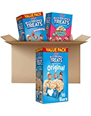 Rice Krispies Treats Marshmallow Bull Kids Snack Bars, School Lunch, Variety Pack, 35.7 Oz, 46 Count