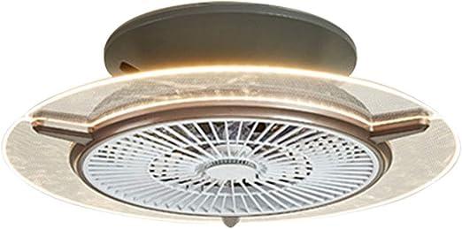 Ventilador Techo con Luz Temporizador Ajustable De Tres ...