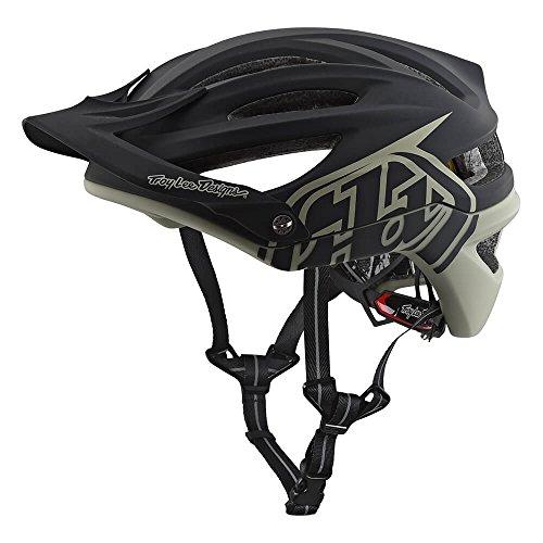Troy Lee Designs Adult A2 MIPS Decoy Mountain Bike Bicycle Helmet (Medium/Large, Black/Grey) from Troy Lee Designs